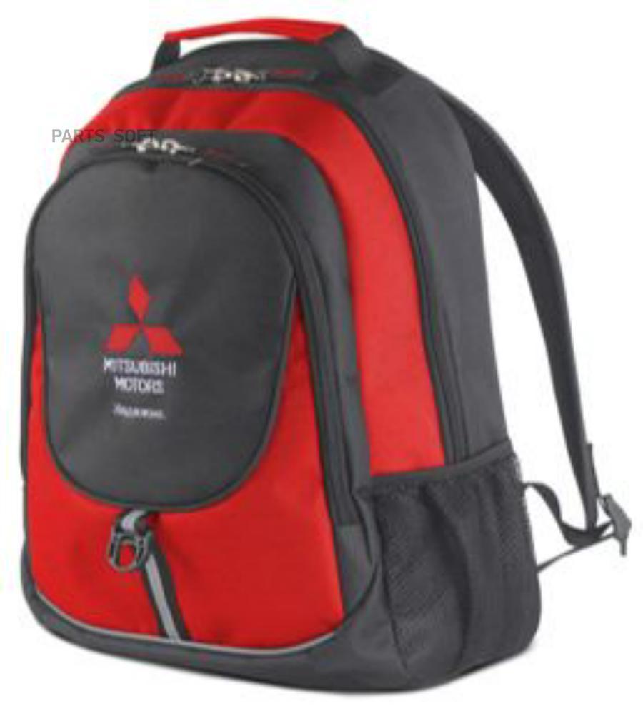 Рюкзак Mitsubishi Backpack Black-Red