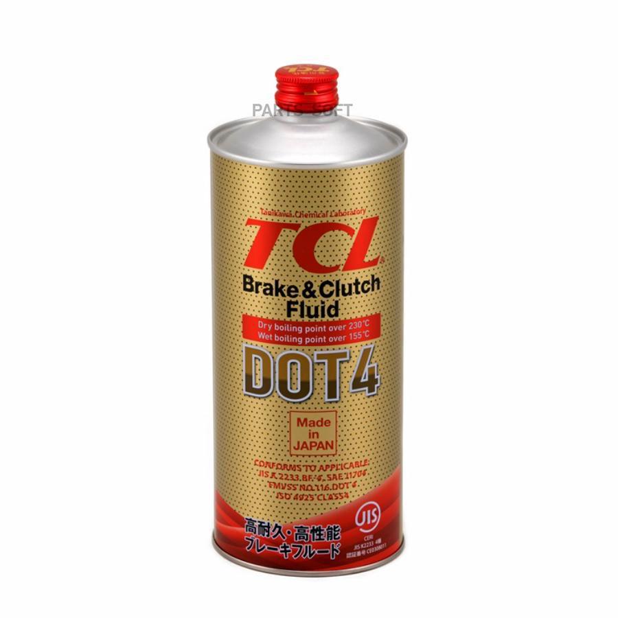 ТОРМОЗНАЯ ЖИДКОСТЬ TCL DOT4 1L