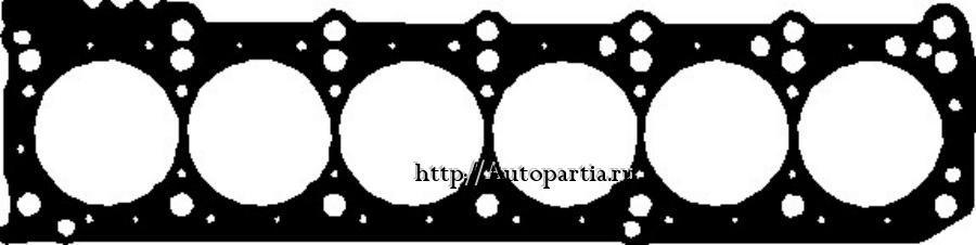 Прокладка головки блока MB W124/E,202,210,140,129,463 m.104  2.8/3.0/3.2L  89-