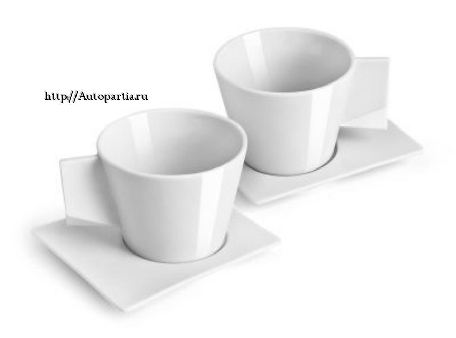 Набор чашек для эспрессо Skoda Espresso Mug?s set 2 pcs.