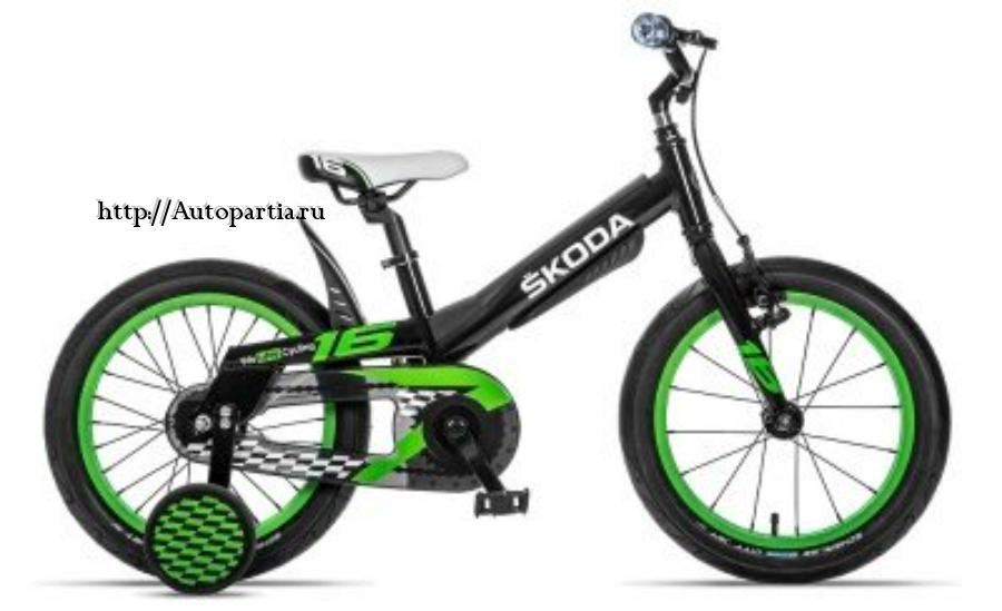 Велосипед SKODA KID 16 9