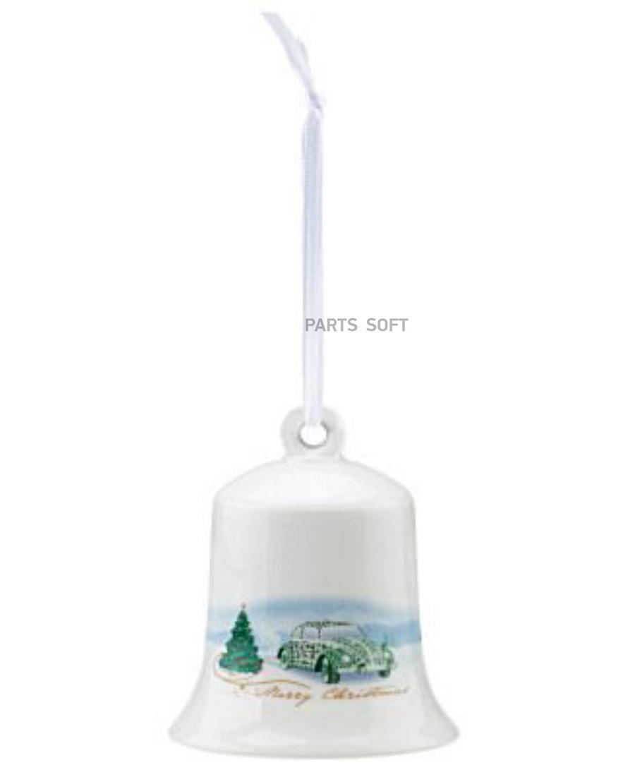Елочная игрушка Рождественский колокольчик Volkswagen Christmas Bell