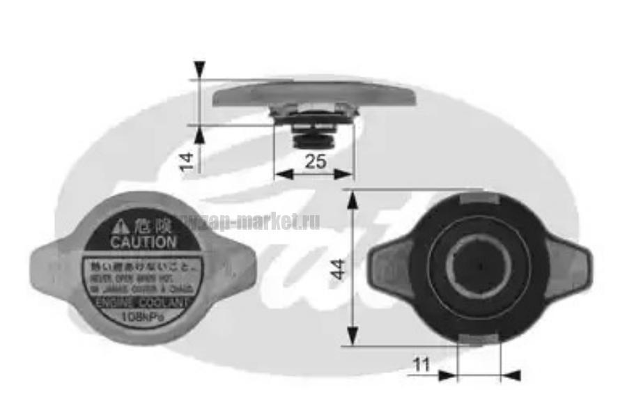 Крышка горловины радиатора