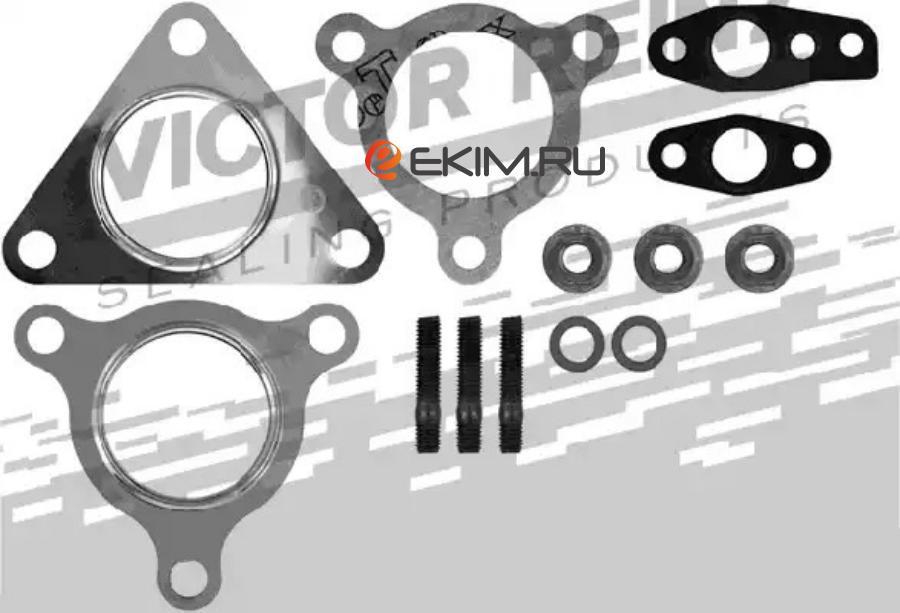 Комплект прокладок турбокомпрессора NISSAN PATROL GR II Wagon (Y61) 00-,TERRANO II (R20) 02- MSG GK5433