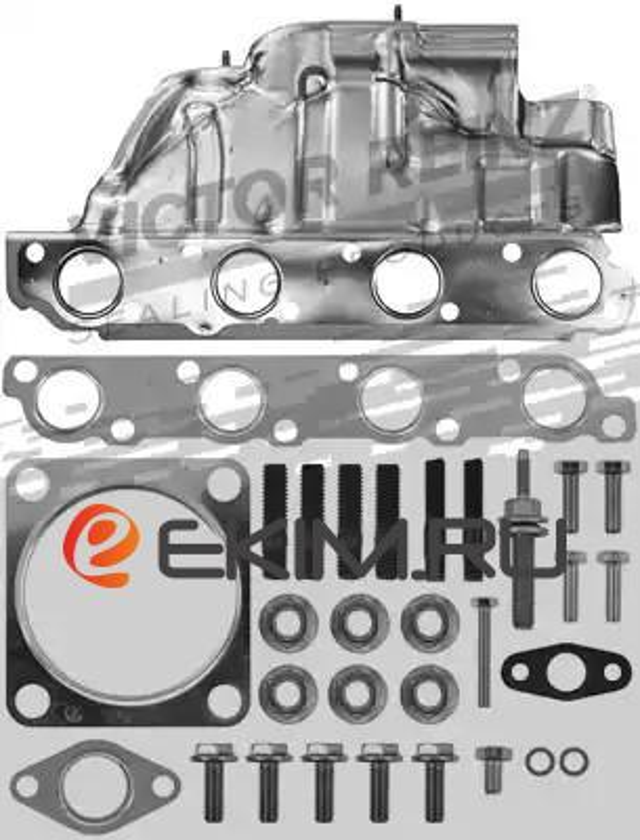 Комплект прокладок турбокомпрессора FORD MONDEO III (B5Y) 00-07,MONDEO III седан (B4Y) 00-07,MONDEO III универсал (B MSG GK5389