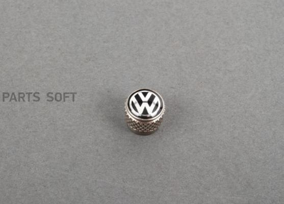 Колпачки на ниппель Volkswagen Valve Dust Caps For Rub/Met