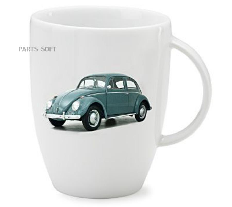 Фарфоровая кружка Volkswagen Classic Mug Beetle Green