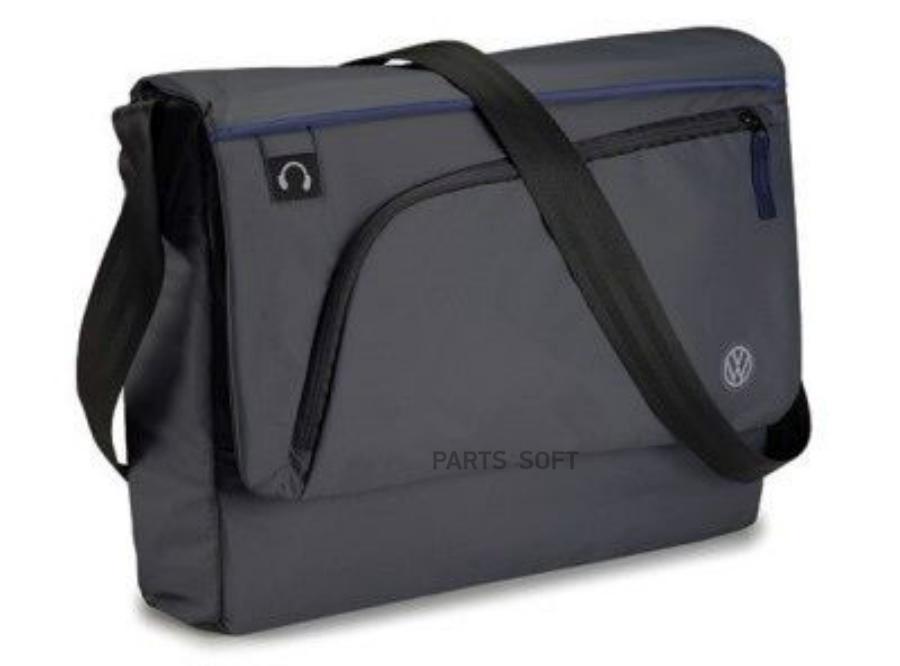 Сумка с наплечным ремнем Volkswagen Logo Shoulder Bag Anthracite