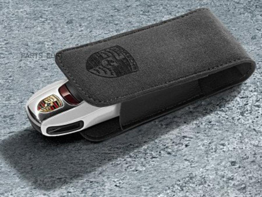 Замшевый чехол для ключа от автомобиля Porsche Key Case Alcantara 2017