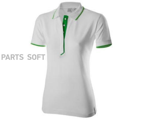 Женская рубашка-поло Skoda Polo Shirt WoMens Essential Collection White/Green