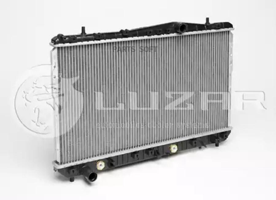 Радиатор охлаждения Lacetti (04-) AT LUZAR