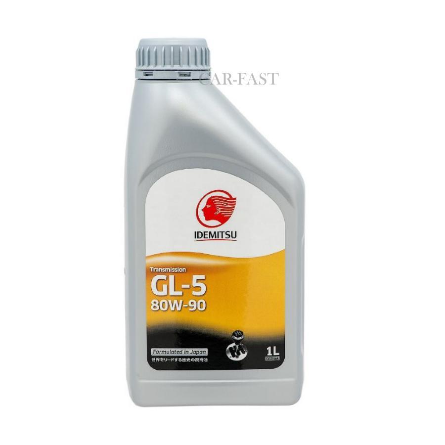 Масло трансмиссионное минеральное GEAR GL-5 80W-90, 1л