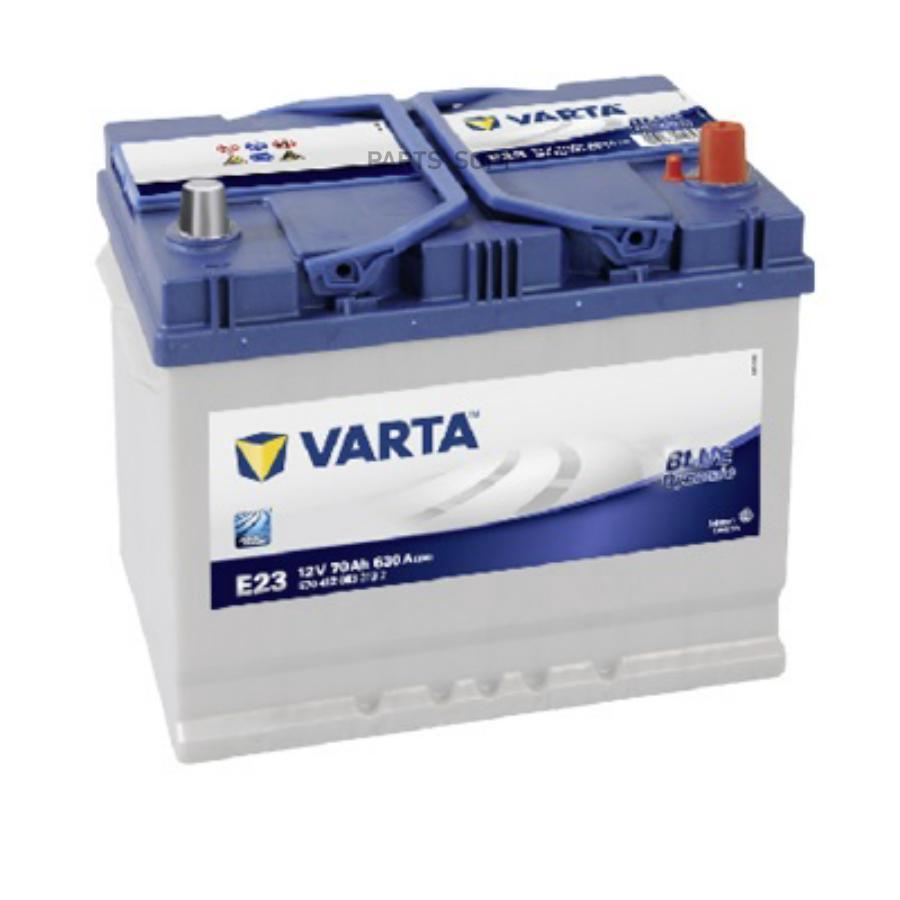 Аккумулятор VARTA 70AH blue dynamic 12v 70ah 630a 261х175х220
