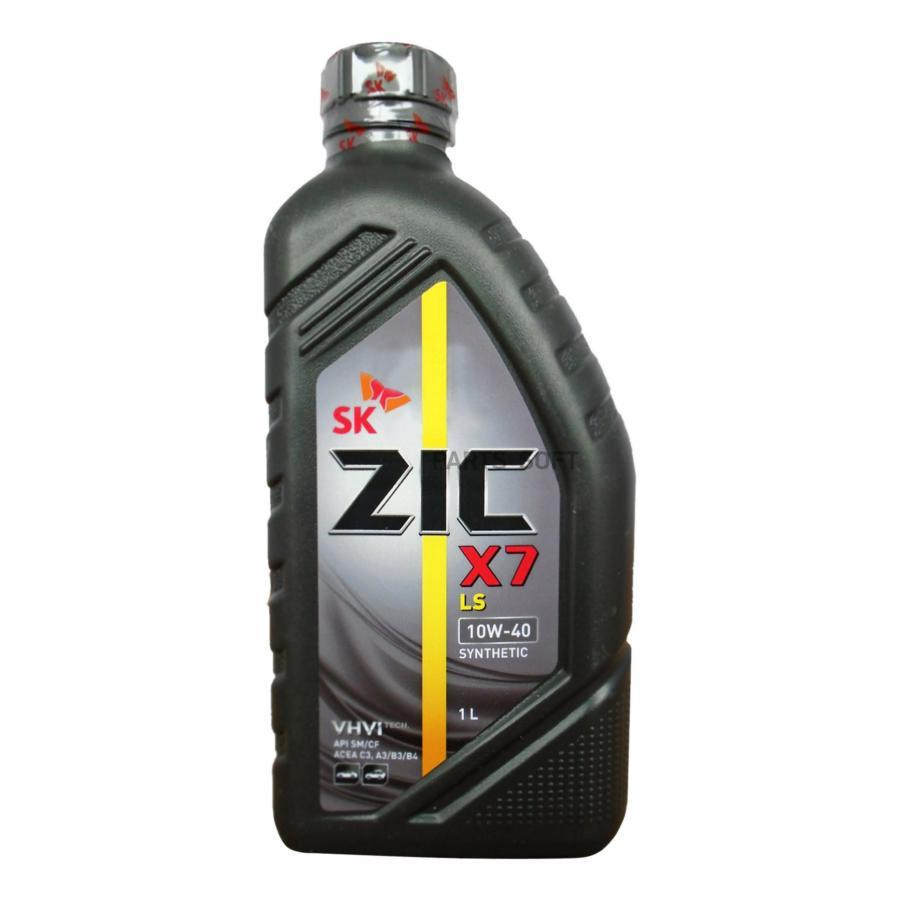 Масло моторное синтетическое X7 LS 10W-40, 1л