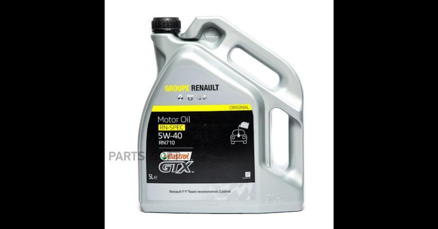 Масло моторное Renault - Castrol GTX RN-SPEC RN 710 5W40 5 л 7711 943 691
