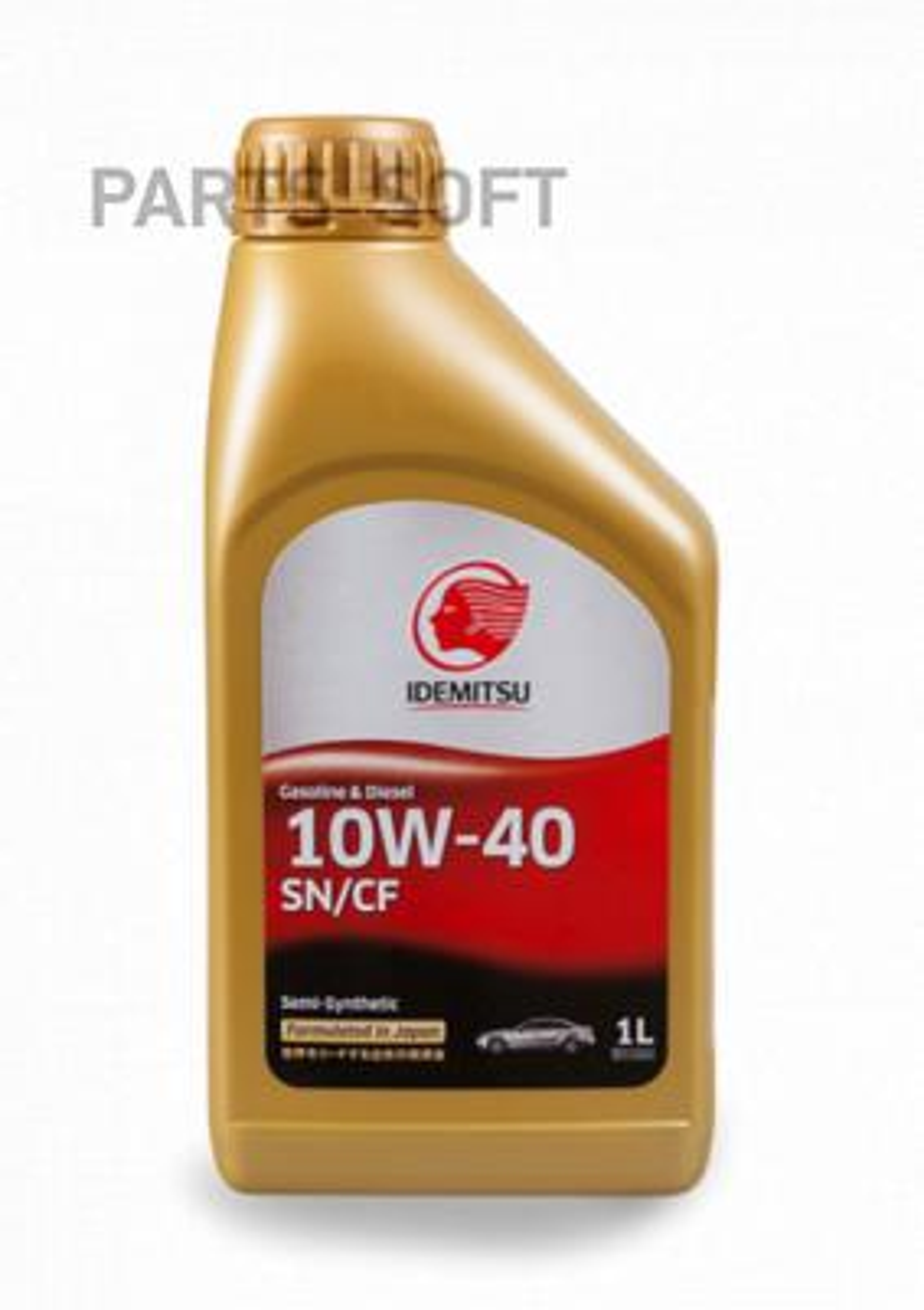 Масло моторное полусинтетическое Gasoline Diesel Semi-Synthetic 10W-40, 1л