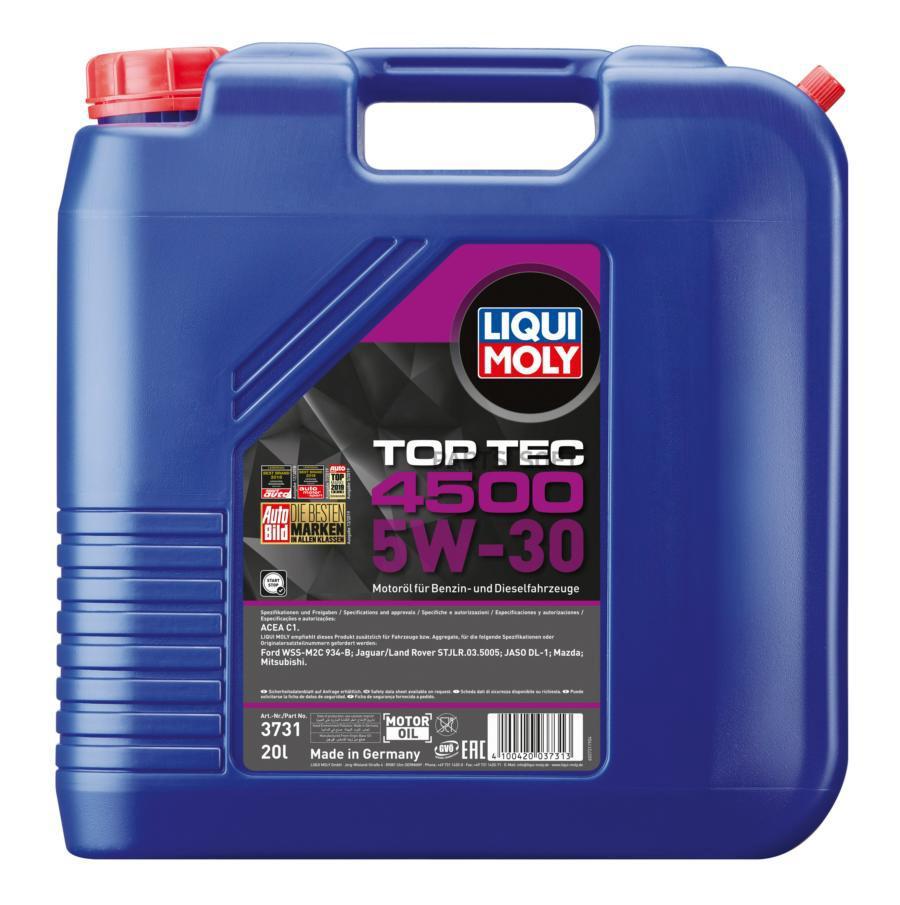 НС-синтетическое моторное масло Top Tec 4500 5W-30 20л