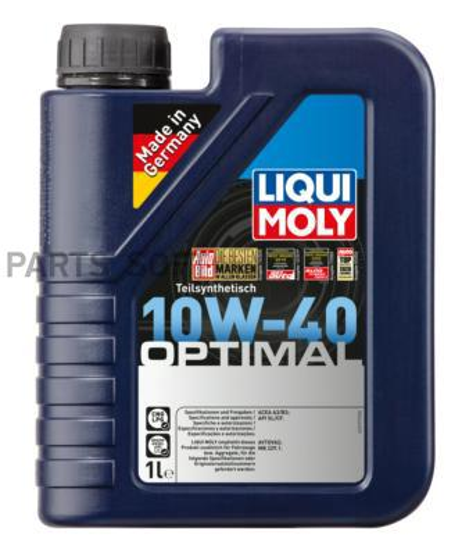 10W-40 SL/CF OPTIMAL 1л (полусинт.мотор.масло)