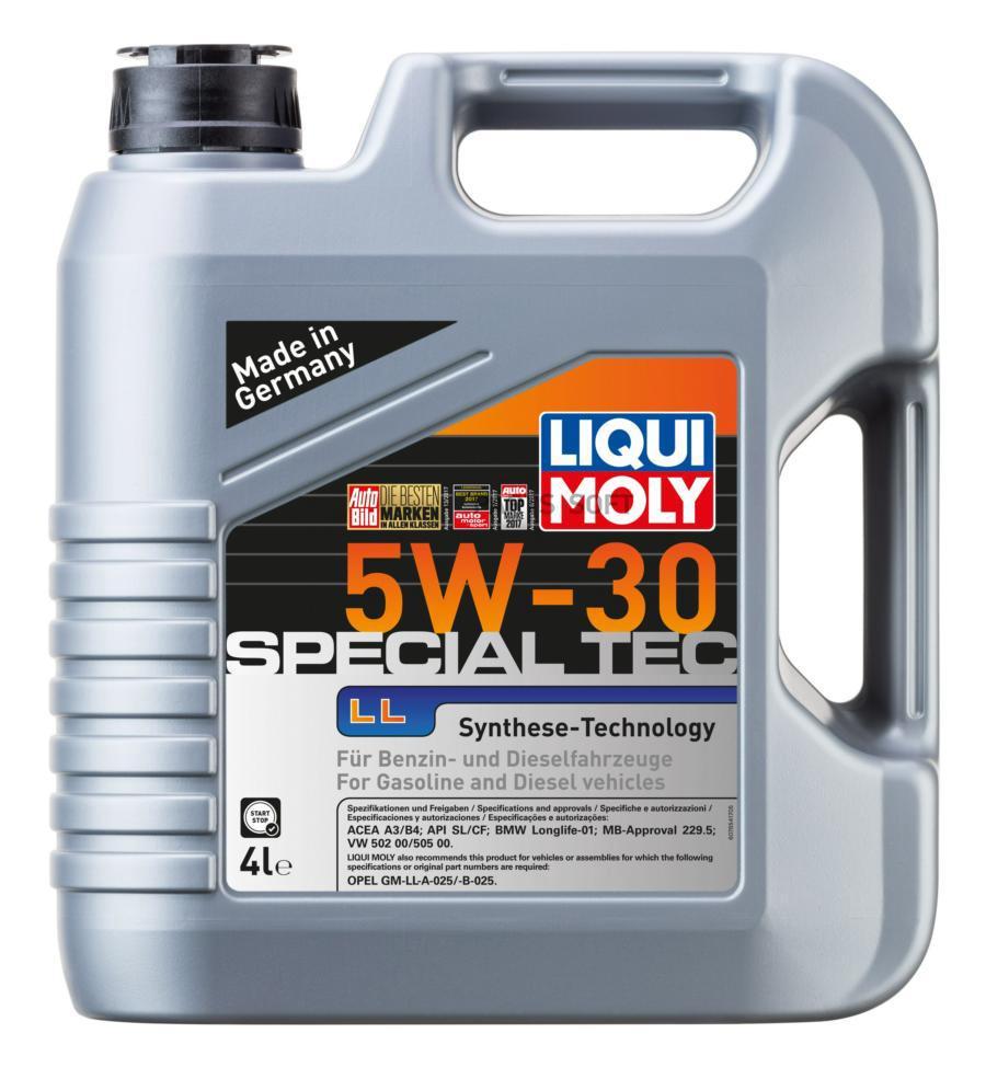 5W-30 SL/CF SPECIAL TEC LL 4л (НС-синт.мотор.масло)