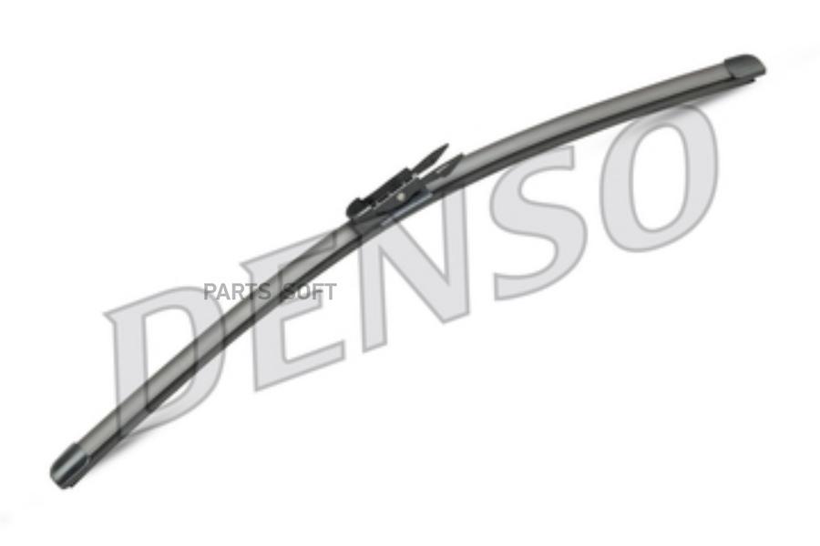 К-т щеток стеклоочистителя Denso Flat Blades DF034
