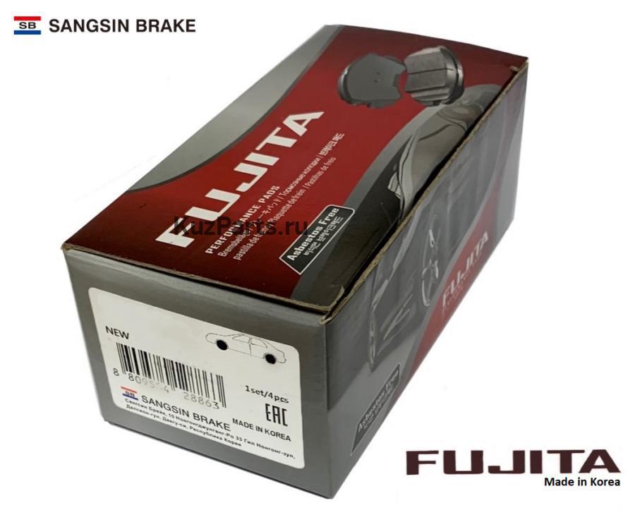 Колодки тормозные задние RP1117 Fujita