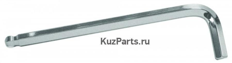 Ключ Г-образный шестигранный с шаром 10 мм.