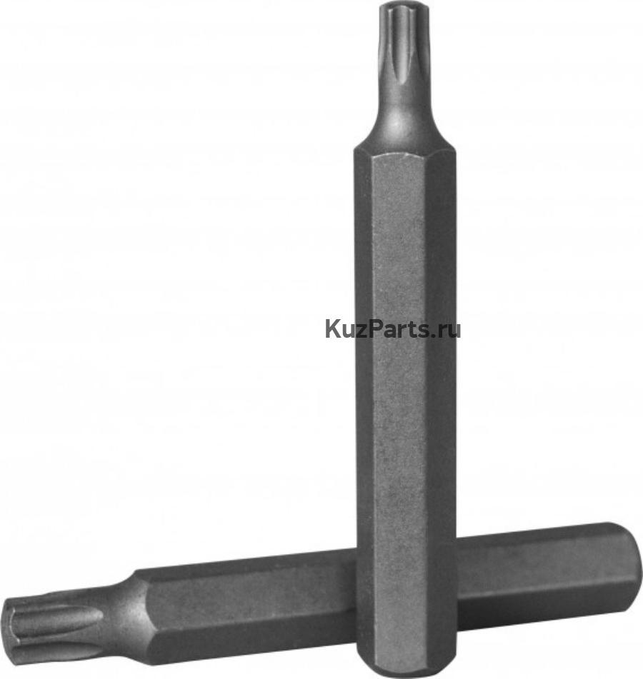 Вставка-бита 10 мм DR x 75 мм TORX T 25
