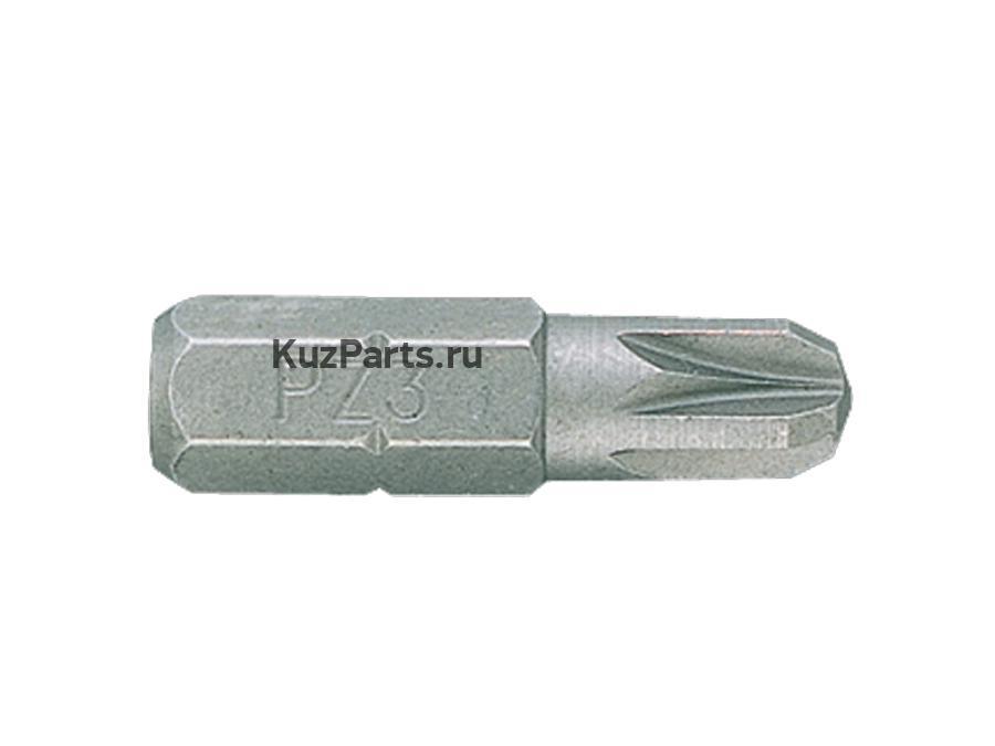 """Вставка (бита) торцевая 1/4, Pozidriv, PZ2, L = 25 мм KING TONY 102502Z"""""""