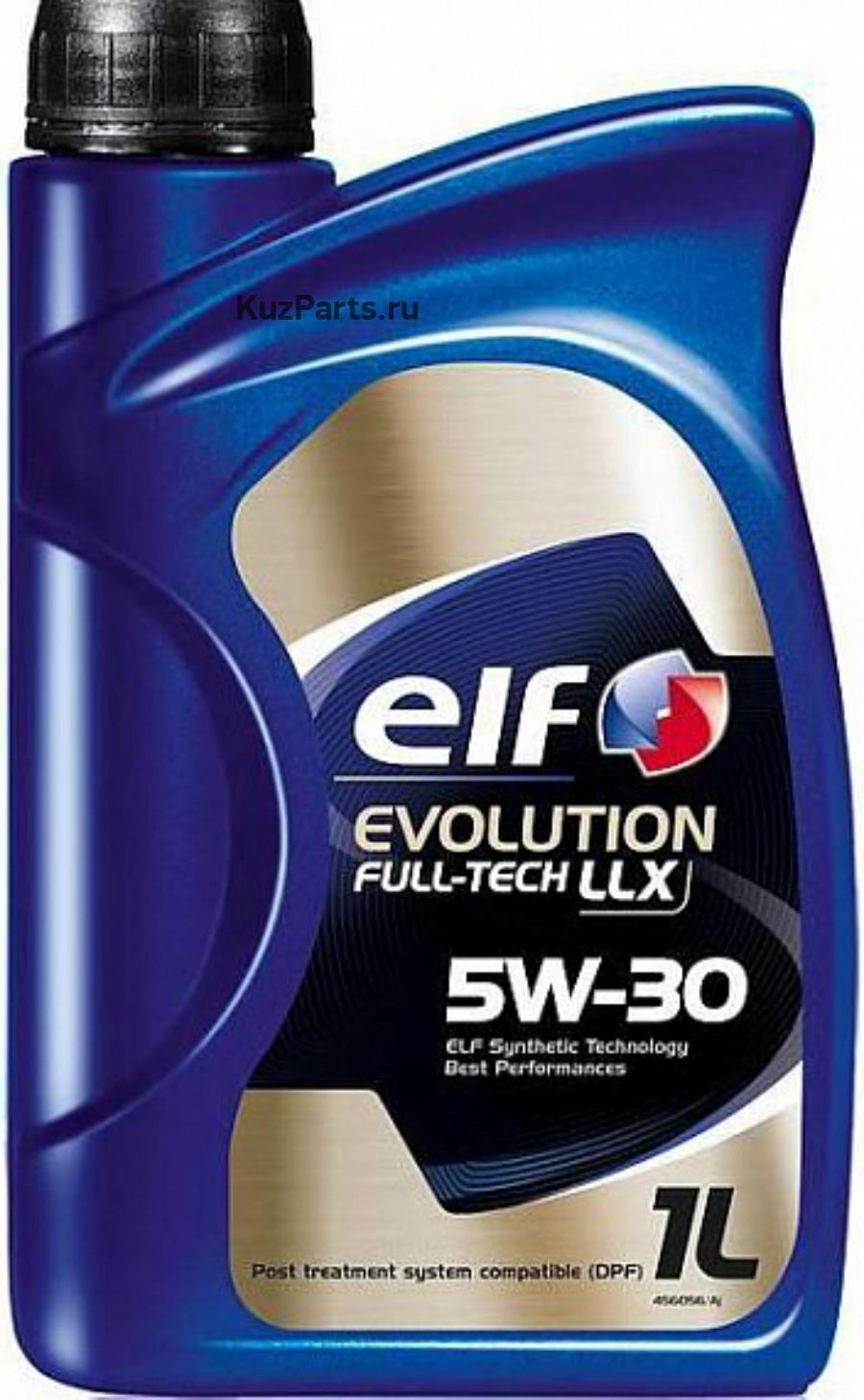 Масло моторное синтетическое Evolution Full-Tech LLX 5W-30, 1л