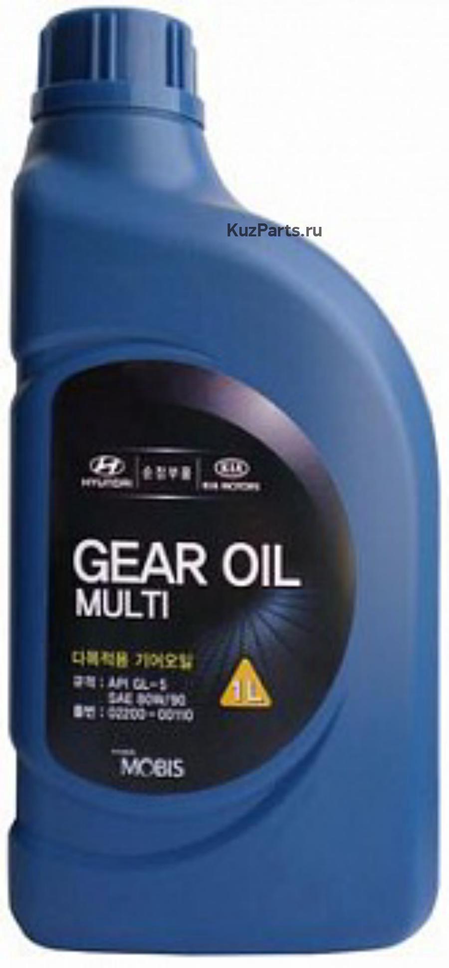 Масло трансмиссионное минеральное Gear Oil Multi 80W-90, 1л
