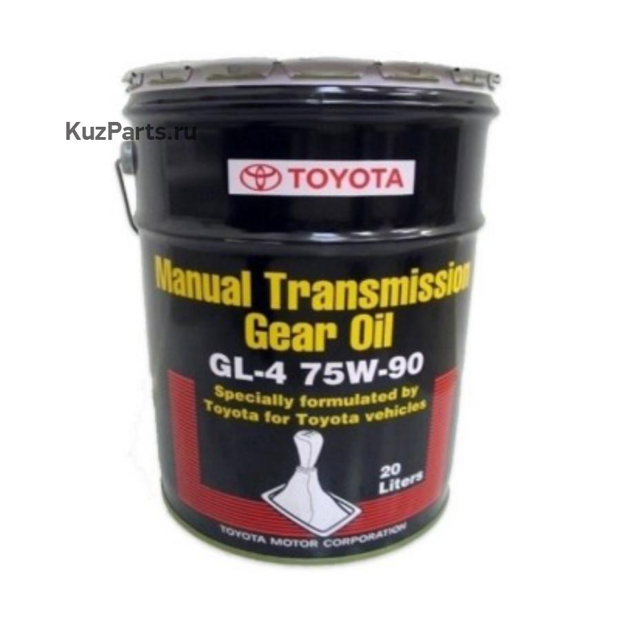 Масло трансмиссионное синтетическое 75W90 GL-4/GL-5 20л