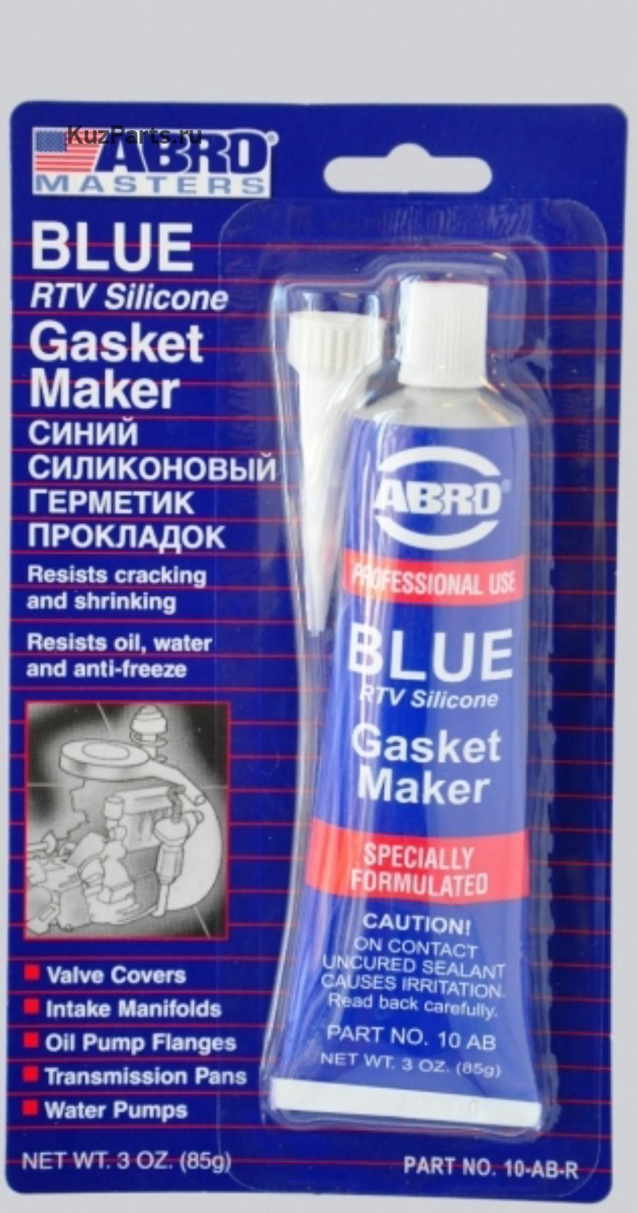 Герметик прокладок синий, 85 г, ABRO, 10ABR