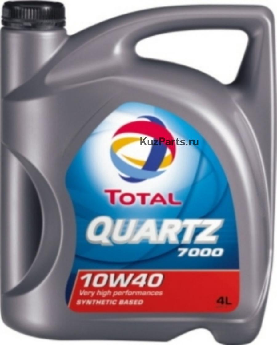 Масло моторное полусинтетическое QUARTZ 7000 10W-40, 4л