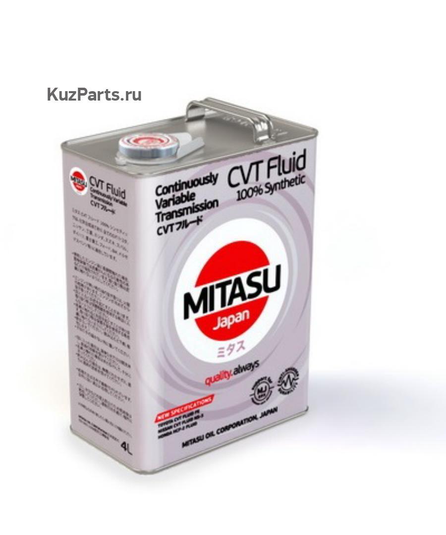 Масло трансмиссионное синтетическое CVT MULT FLUID, 4л