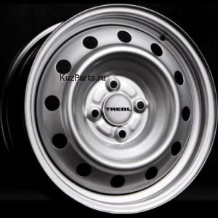 TREBL X40014 6x15/4x100 ET36 D60.1 Silver
