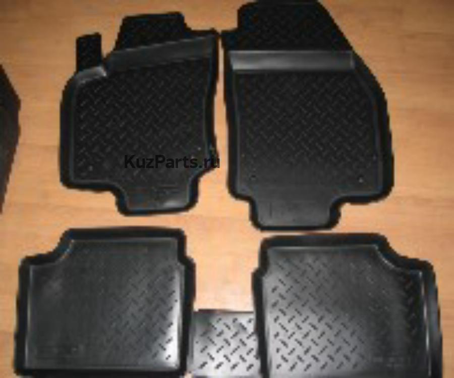 Комплект ковриков Kia Sorento 02 (Po)