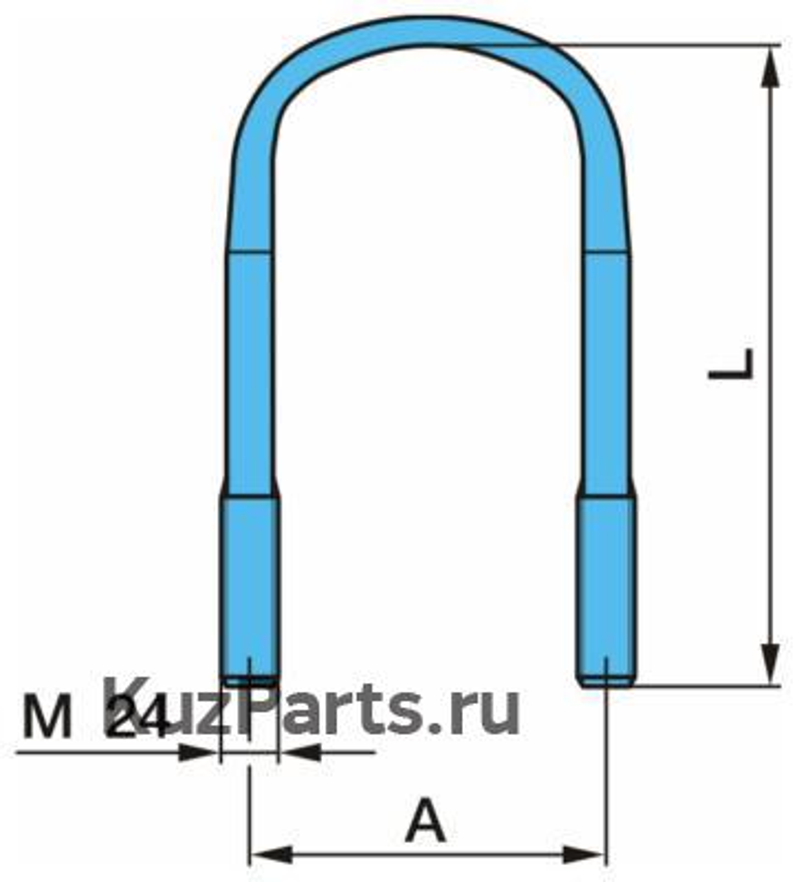 Стремянка рессоры (плоская)
