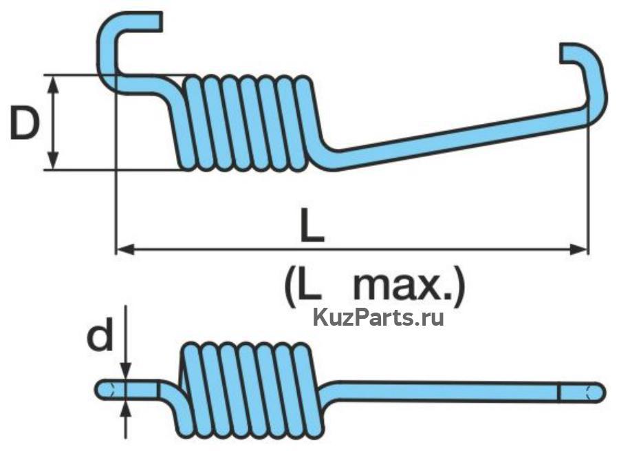 Стяжная пружинаНа осях с тормозом SN 42..-2 при переходена BPW ECO Drum (положение 328) следует дополнительнозаказать позицию 315 (03.167.23.09.0, 4x) и позицию 364 (8x).