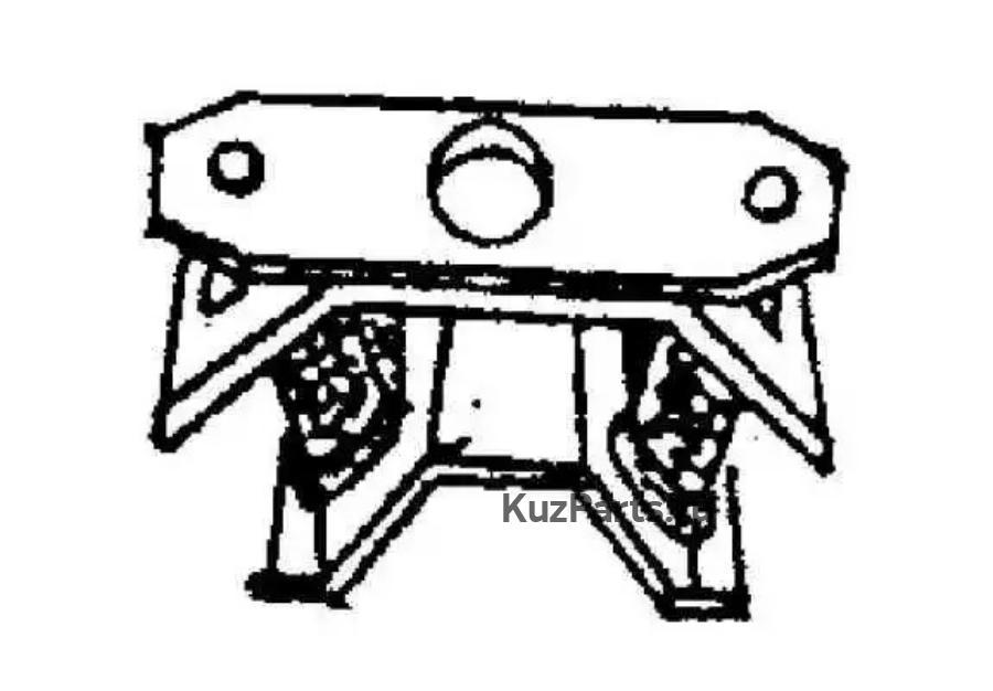 Подвеска, держатель ступенчатой коробки передач
