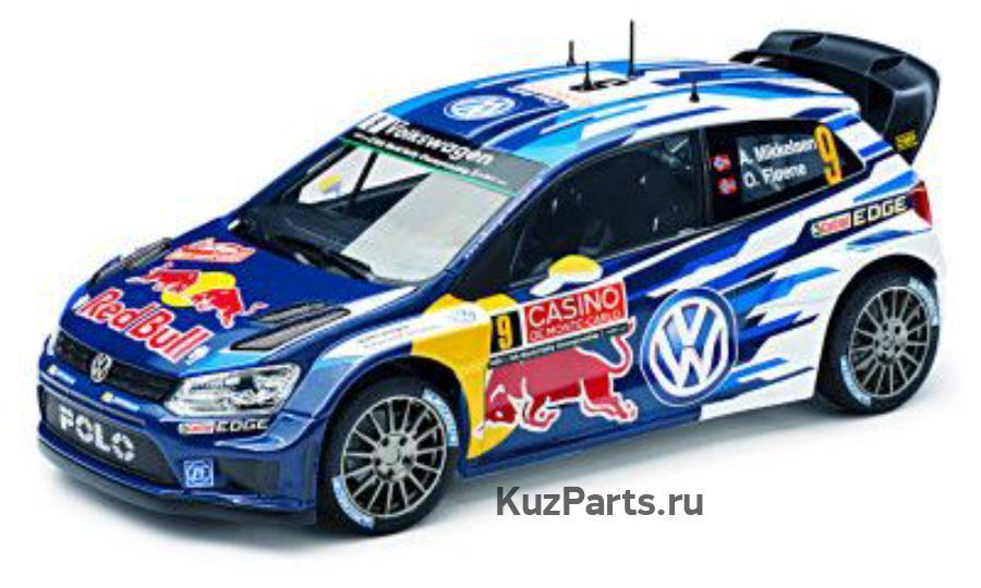 Модель автомобиля Volkswagen Polo R WRC 1:18 Mikkelsen/Floene