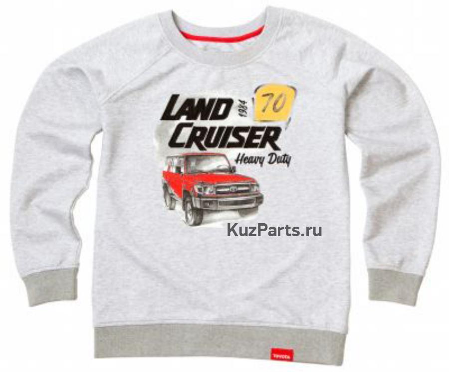 Женская толстовка Toyota Land Cruiser 70 Ladies Hoody Grey