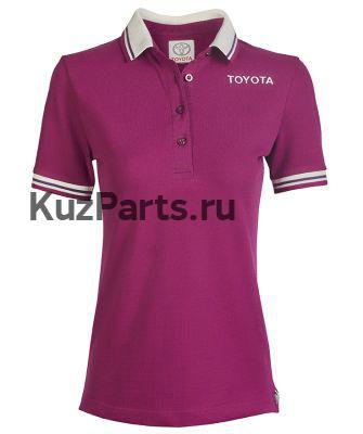 Женская рубашка поло Toyota Ladies Polo Shirt Weekend Lilac