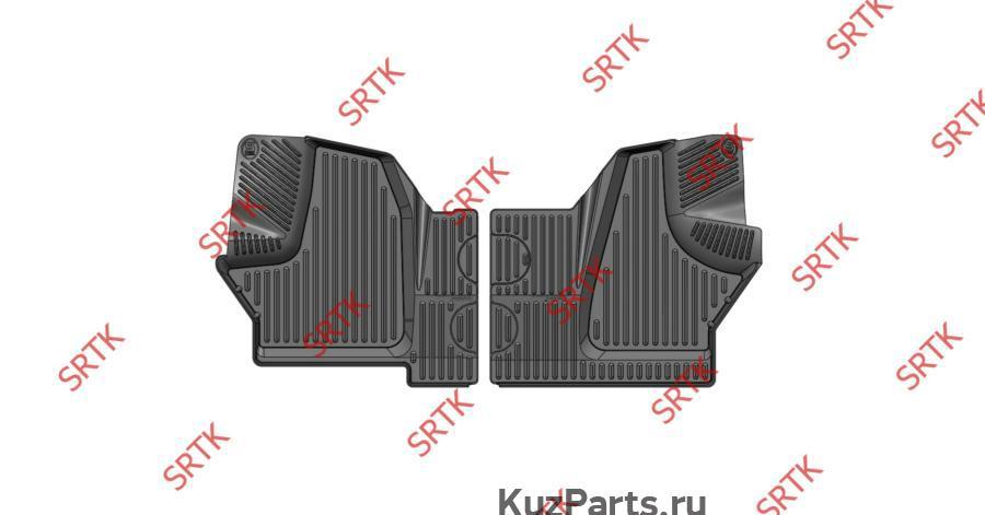 Коврики резиновые в салон 3D STANDART для GAZ Gazelle Next (2013-)
