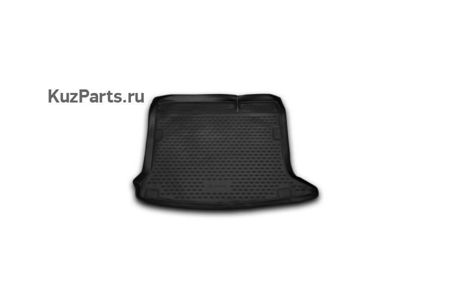 Ковер в багажник RENAULT Sandero/Sandero Stepway, 2014->, хб., 1 шт. (полиуретан)