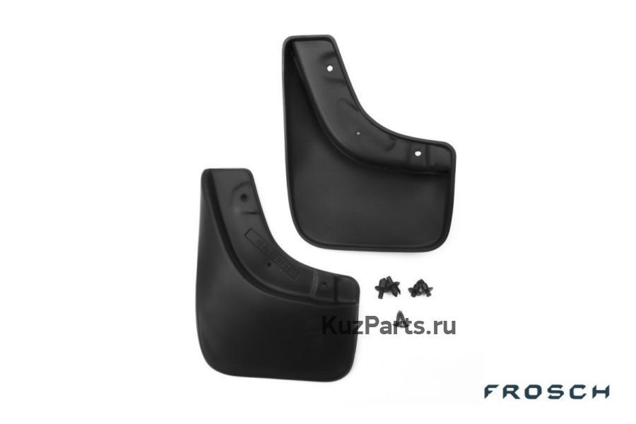 Брызговики передние SUZUKI SX4 2007->/FIAT Sedici 2006-> (с расширителем арок),(стандарт)