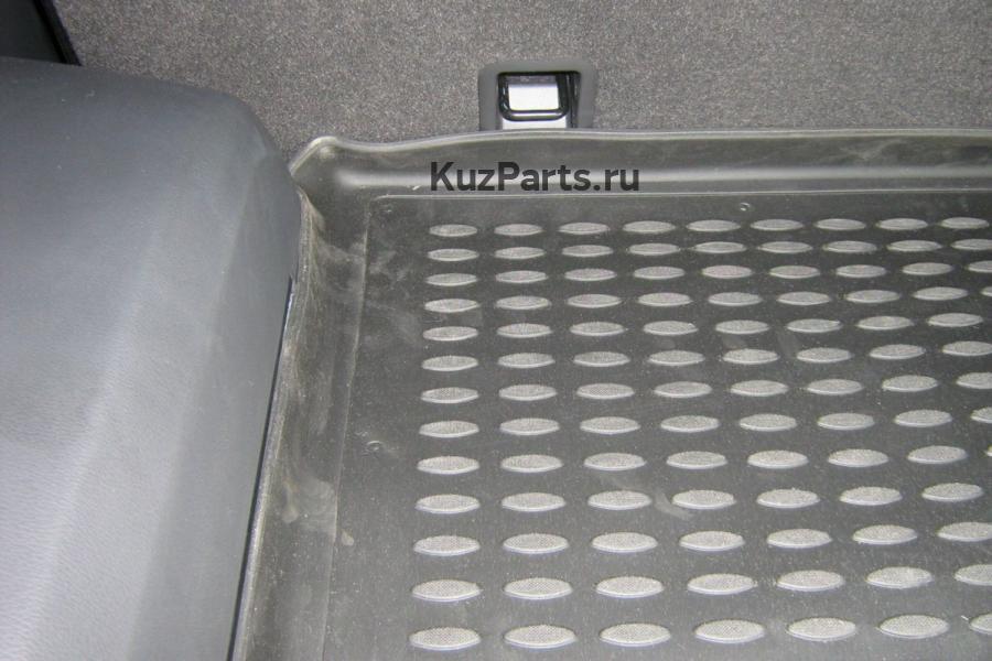 Коврик в багажник OPEL Antara 2006->, кросс. (полиуретан)