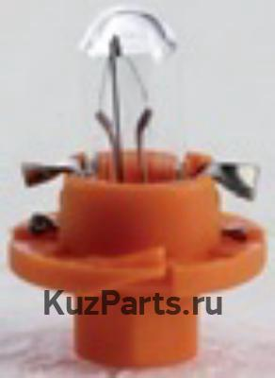 Лампа BX8,4D 12V 1,1W ORANGE