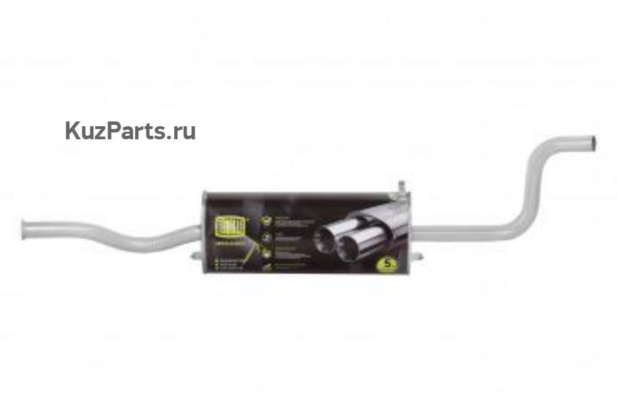 Глушитель основной алюм. для автомобилей ВАЗ 2115