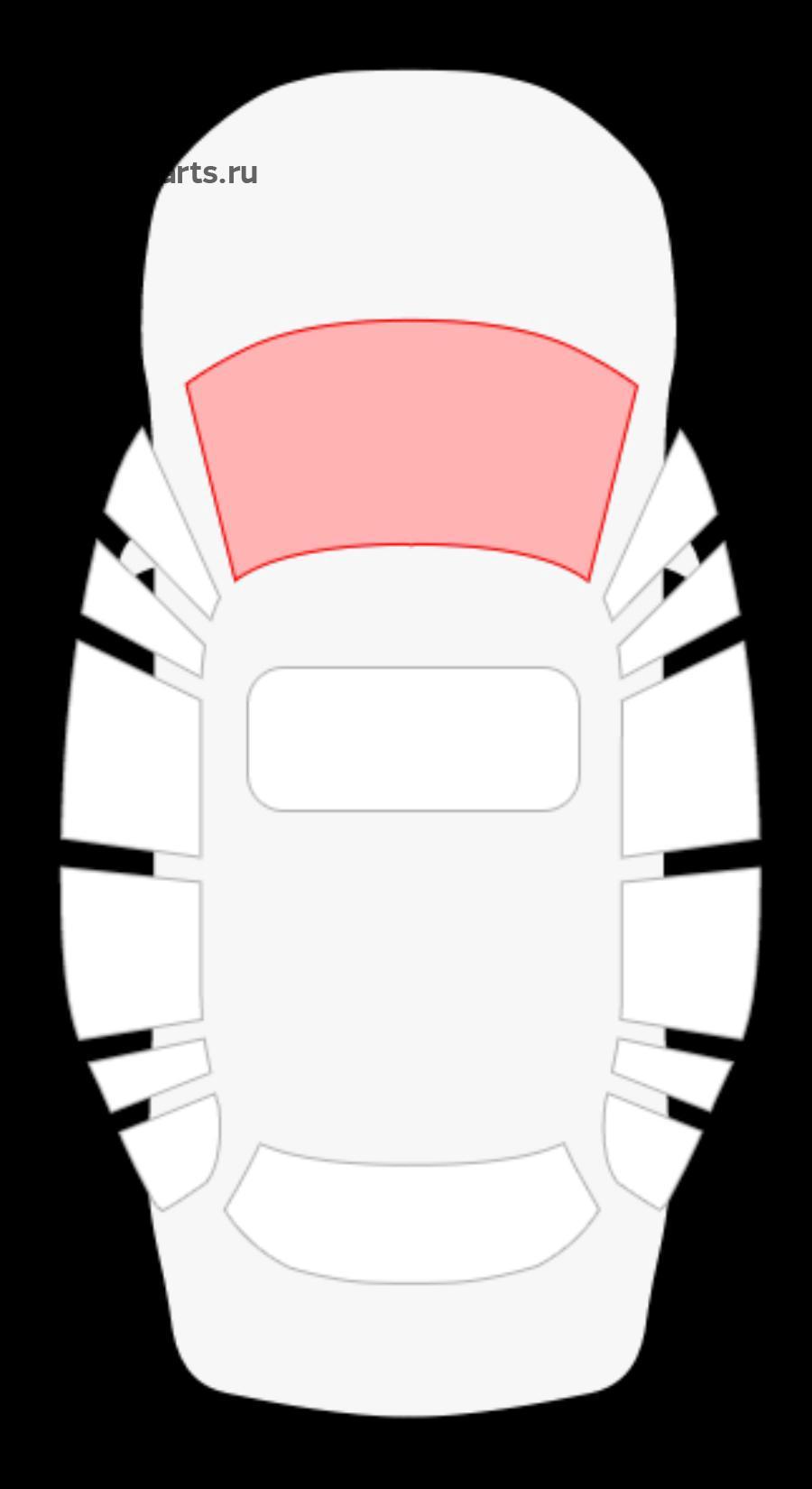 Toyota Passo II 5D Hbk / Daihatsu Boon 5D Hbk / Sirion 5D Hbk (без полосы)