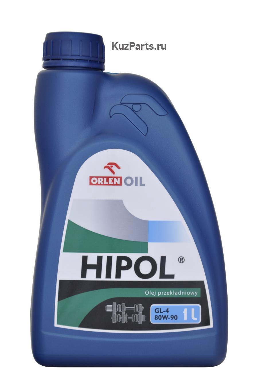 Минеральное трансмиссионное масло HIPOL 80W-90 GL-4 - 1 л
